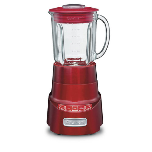 Cuisinart SPB-600 SmartPower Die Cast Blender, Metallic Red (Refurbished)