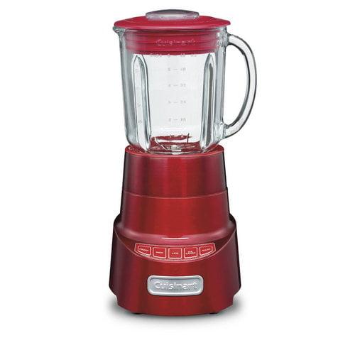 Cuisinart SPB-600 SmartPower Die Cast Blender, Metallic Red (Refurbished)