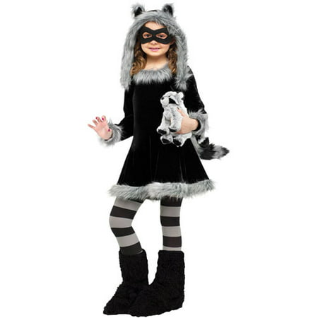 Sweet Raccoon Child Halloween Costume](Halloween Sweet Bags)