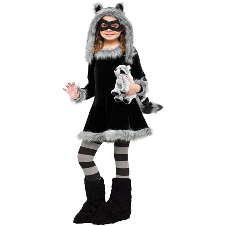Sweet Raccoon Child Halloween Costume](Raccoon Halloween Costume)