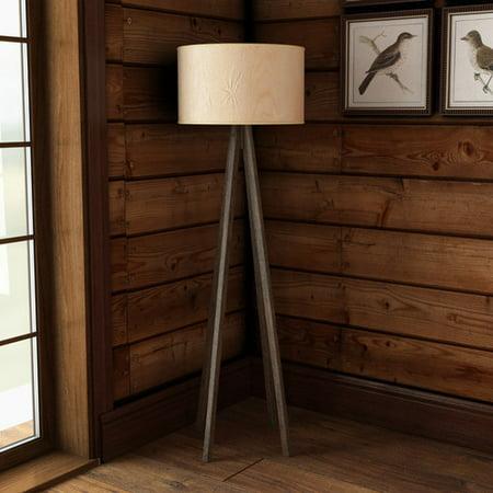 Loon Peak Pikes Peak 57.5'' Tripod Floor Lamp (Tri Peaks Solitaire Halloween)