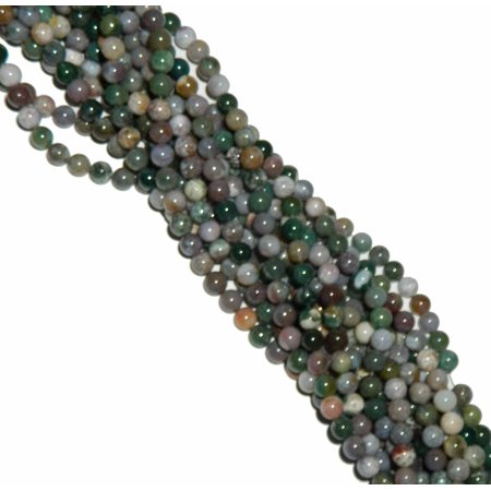 8mm Blood Agate Round, Loose Beads, 40cm 15 inch Gemstone Agate Gemstone Loose Beads