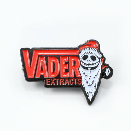 Original Jack Skellington VADER EXTRACTS Halloween Christmas Horror Movie Theme Enamel Pins Collectible Stoner Pins