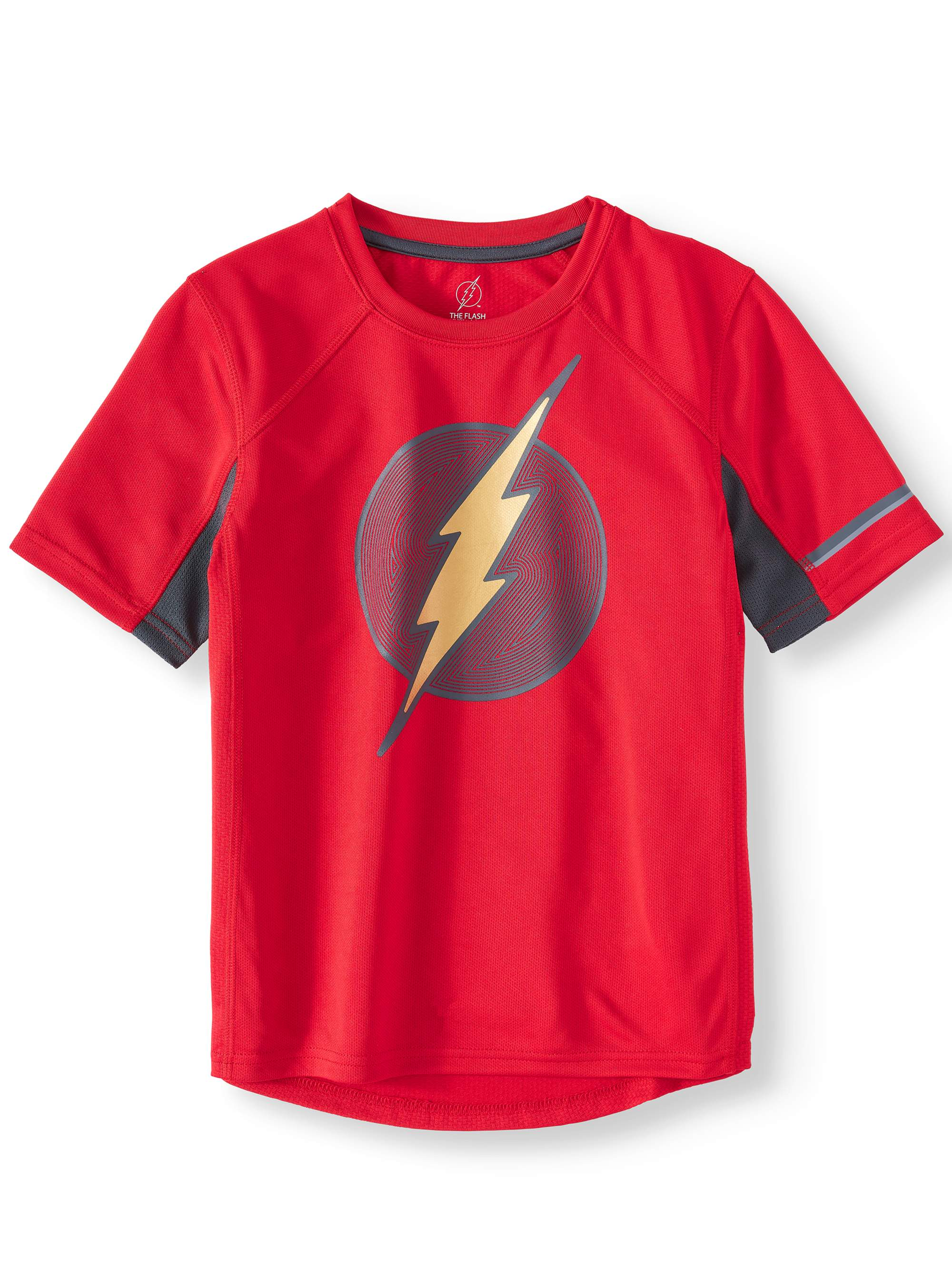 Flash Short Sleeve Performance Tee Shirt (Little Boys & Big Boys)