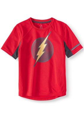 DC Comics The Flash Short Sleeve Performance T-Shirt (Little Boys & Big Boys)