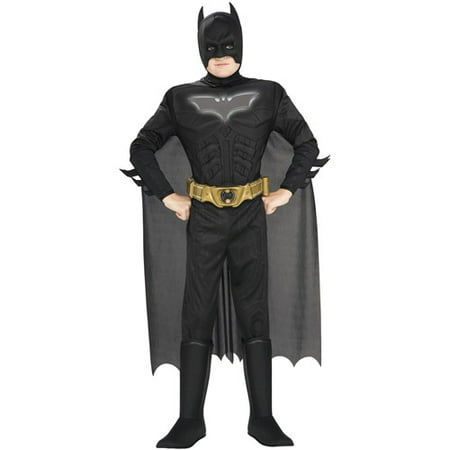 Batman Deluxe Muscle Reflective Child Halloween Costume - Batman Long Halloween Issues