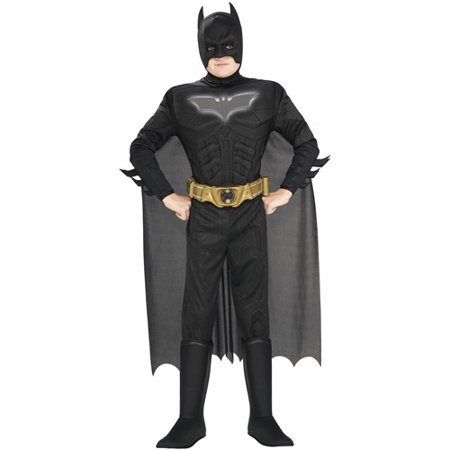 Batman Deluxe Muscle Reflective Child Halloween Costume