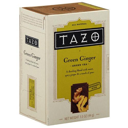 Tazo China Green Ginger Tea, 20ct  (Pack of 6)