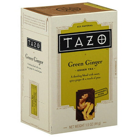 Tazo China Green Ginger thé, 20ct (Pack de 6)
