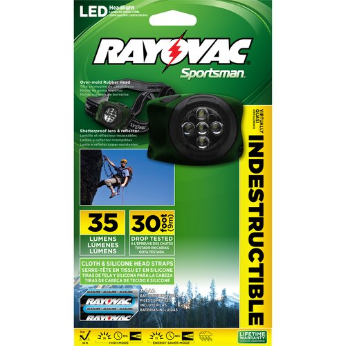 Rayovac Outdoor 3 AAA Indestructible HD Light