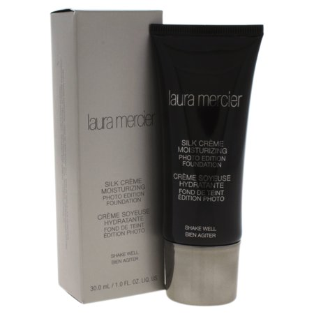 Silk Creme Moisturizing Photo Edition Foundation - Medium Ivory by Laura Mercier for Women - 1 oz
