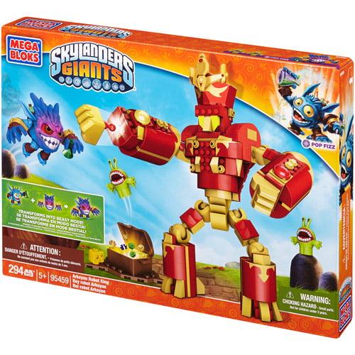 Mega Bloks Skylanders Giants Arkeyan Robot King Building Set