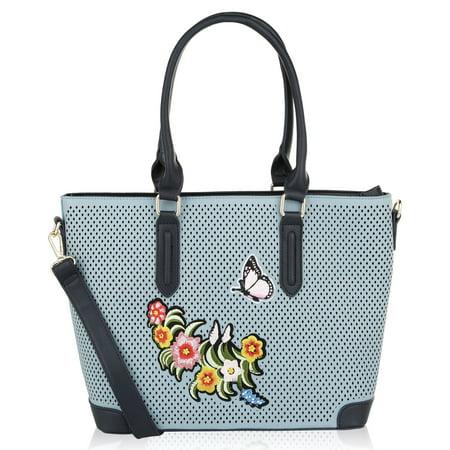 MKF Collection Spiral Designer Handbag