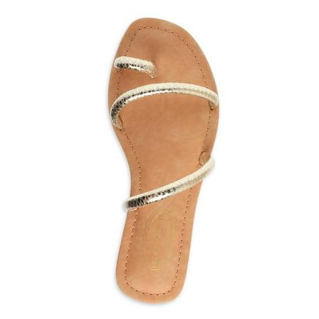 Scoop Women's Sofia Strappy Flat Sandals