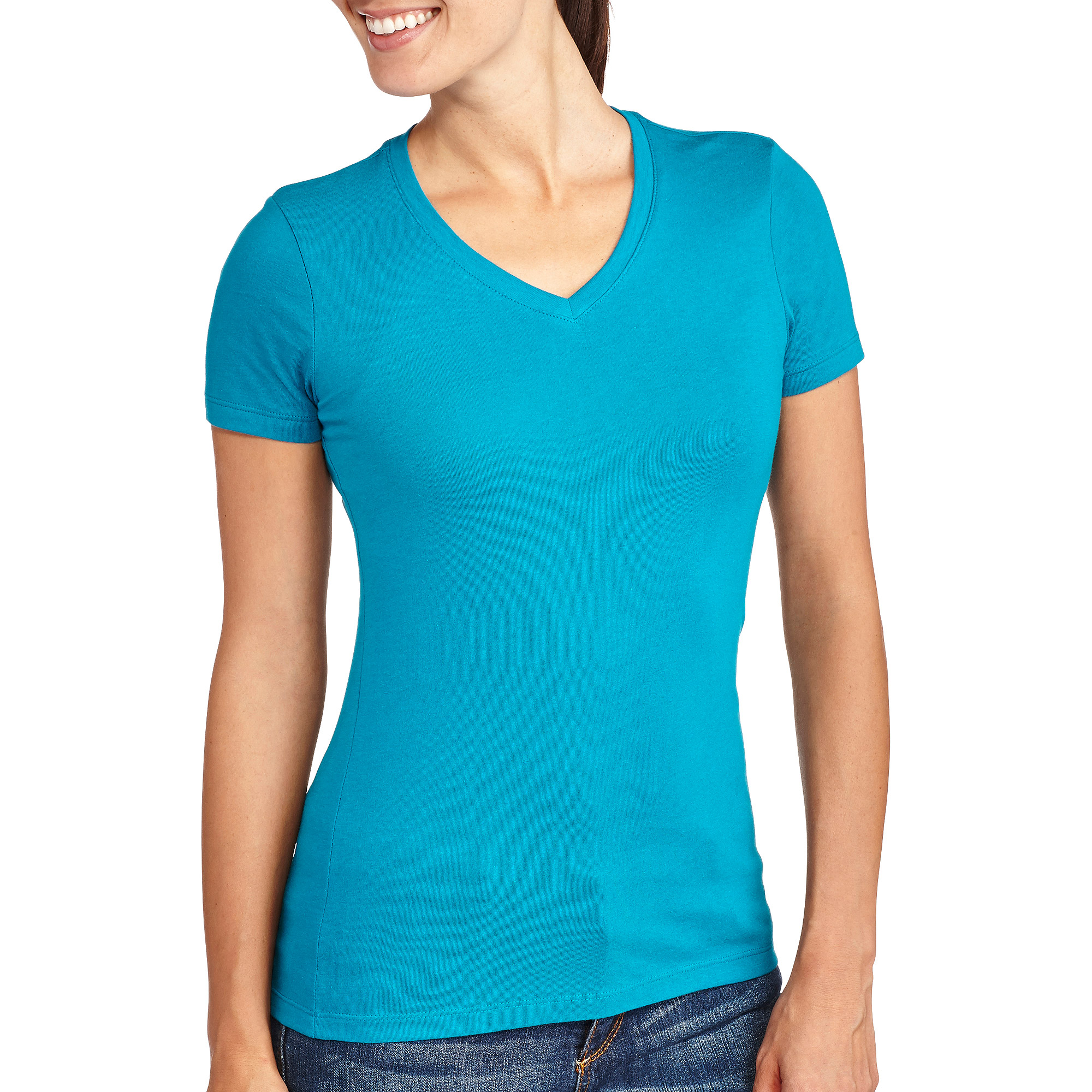 Faded Glory Women's V-Neck T-Shirt