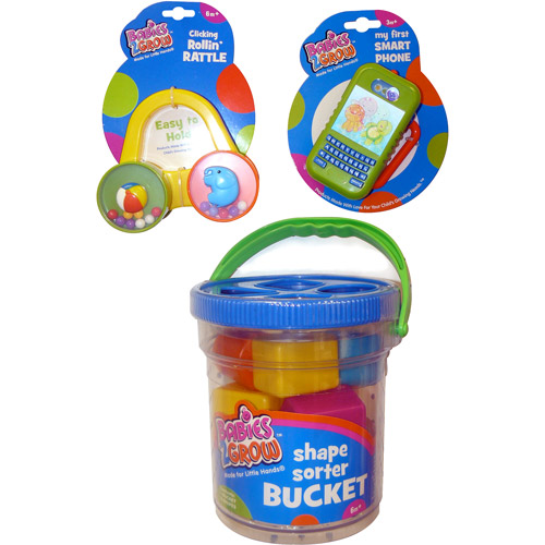 Babies - 2 Grow Playtime Learning Toys Gift Set