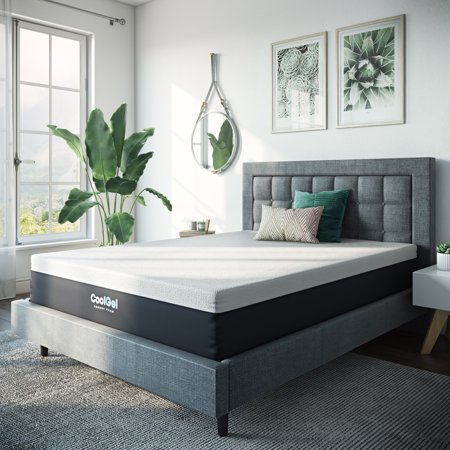 Modern Sleep 12 Inch Cool Gel Memory Foam Medium Plush Mattress