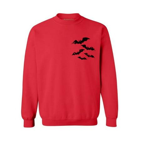 Awkward Styles Scary Bats Sweatshirt Women's Halloween Sweater Trick or Treat Sweatshirt Halloween Sweater for Men Halloween Bats Sweatshirt Spooky Gifts for Halloween Scary Halloween Party Outfit - Spooky Treats For Halloween