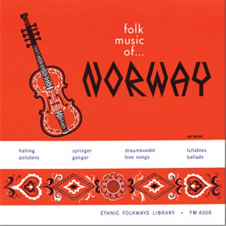 Smithsonian Folkways FW-04008-CCD Songs and Dances of Norway