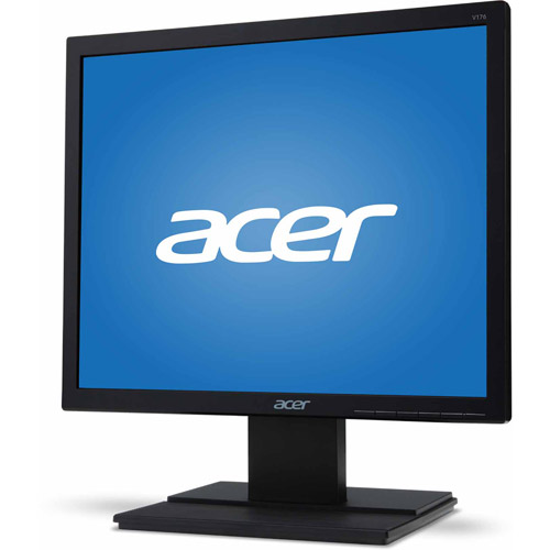 """Acer 19"""" LCD Widescreen Monitor (V196L, Black)"""