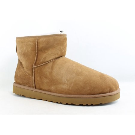 UGG Mens Classic Mini Chestnut Snow Boots Size 18 (ugg boots sale for men)