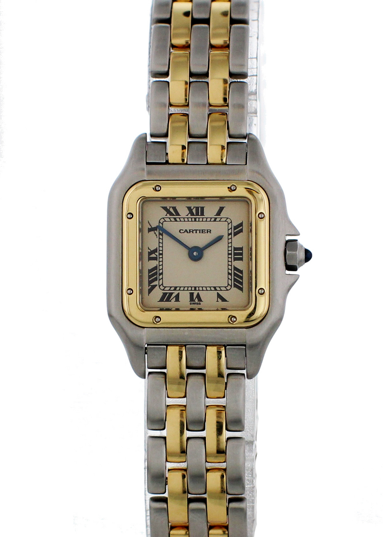 Cartier Panthere De Cartier 1120 Steel Women Watch (Certified Authentic & Warranty)