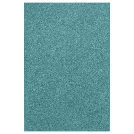 Home Queen Solid Color Area Rugs Teal - 6'x8' ()