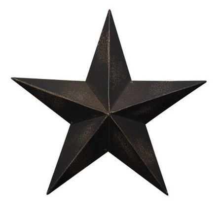 - CWI Gifts Barn Star Wall Decor, 24-Inch, Antique Black