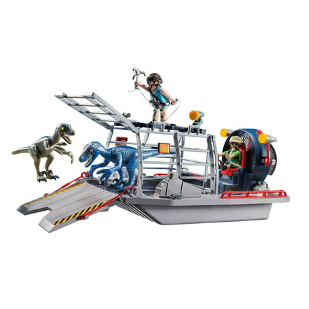 PLAYMOBIL Enemy Airboat with Raptor