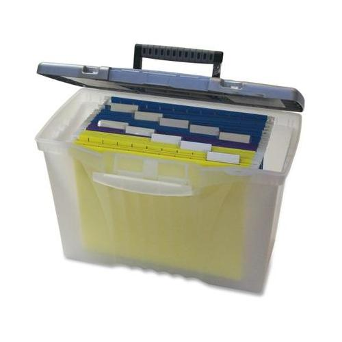 Storex Portable File Box STX61511U01C