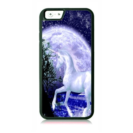 Unicorn in the Moonlight Black Rubber Case for the Apple iPhone 6 / iPhone 6s - iPhone 6 Accessories - iPhone 6s Accessories Case Dimensions (case length:) iphone 6s 5.5 inch case - iphone 6 5.5 inch case ; Case Dimensions (for iPhone with the following size screen:) iphone 6 4.7 case - iphone 6s 4.7 case ; This Apple iPhone 6 Case -  iPhone 6s is made of a durable rubber. TPU slim iPhone 6 Thin Case - iPhone 6s Thin Phone Case ; Black appleiphone6 case - 6s iphone case ; Bumper style iphone six case - iphone six s case ; These apple iphone 6 accessories - apple iphone 6s accessories feature a vibrant and everlasting flat printed image design. Beautiful, protective, essential and fun apple iphone 6 case - iphone 6s iphone case ; iphone 6s kids case - apple iphone 6 kids case - iphone 6 case for girls - iphone 6s case for girls - iphone 6 case for boys - iphone 6s kids case boys - iphone six case for teens - iphone 6s accessories for women and men