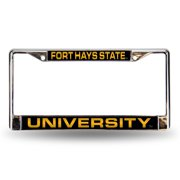 "6"" x 12"" Yellow and Black College Fort Hays State Tigers License Plate Cover"