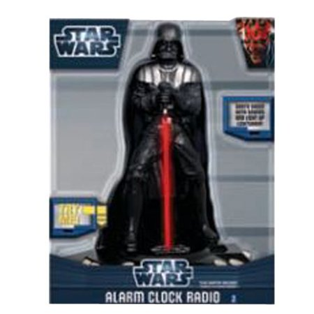 star wars darth vader alarm clock radio instructions