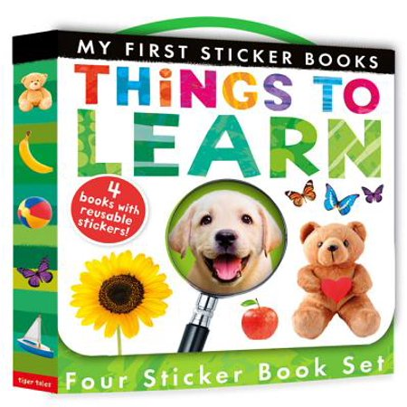 My First Sticker Book Set : Things to Learn