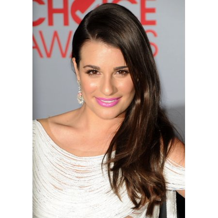 Lea Michele At Arrivals For Peoples Choice Awards 2012   Arrivals Canvas Art     16 X 20