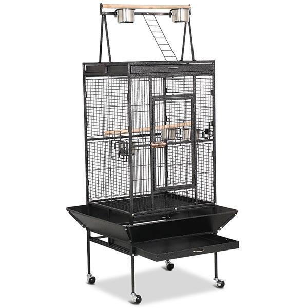 "68"" Yaheetech Large Play Top Bird Cage for Parrot, Finch & Cockatoo"