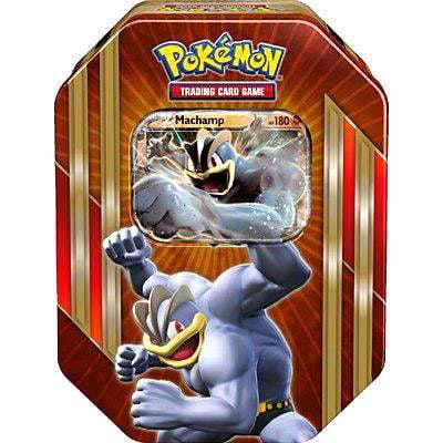 Collectors Embossed Tin (Pokemon Spring 2016 Machamp-EX Collector Tin )