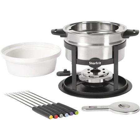 Fun Fondue Set - Starfrit 092521-004-0000 3-in-1 Twelve-piece Fondue Set