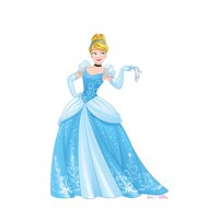 64 x 45 in. Cinderella - Disney Princess Friendship Adventures Cardboard Standup