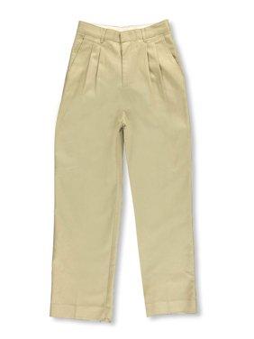 Big Boys' Husky Basic Pleated Pants (Husky Sizes)