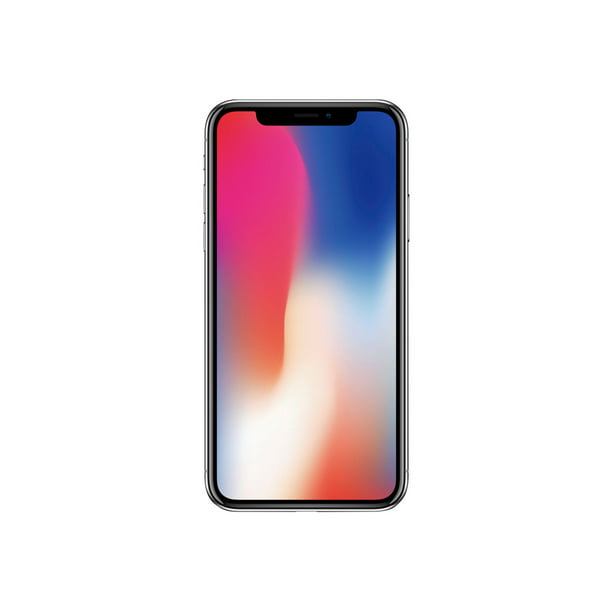 "Apple iPhone X - Smartphone - 4G LTE Advanced - 64 GB - GSM - 5.8"" - 2436 x 1125 pixels (458 ppi) - Super Retina HD - 2x rear cameras (2x front cameras) - T-Mobile - space gray"