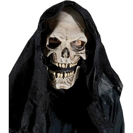 Grim Reaper Halloween Adult Latex Mask