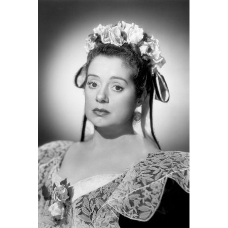 Elsa Lanchester 1940's portrait in period costume 24x36 - 1940's Couples Costumes