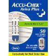 ROCHE ACCU-CHEK AVIVA PLUS DIABETES GLUCOSE STRIPS 50'S 04528948001 (NFRS)