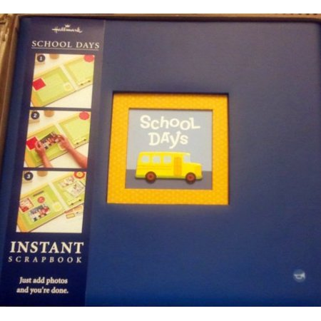 Hallmark Album School Days Instant Scrapbook Walmart