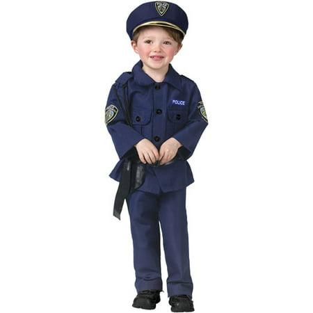 Policeman Toddler Halloween Costume