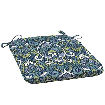 Arden Selections Sapphire Aurora Damask 18 x 19 in. Outdoor Seat Pad, Set of 2 ()
