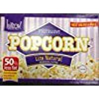 Kitov Microwave Popcorn Lite Natural No Cholesterol 19.2 Oz. Pk Of 6.