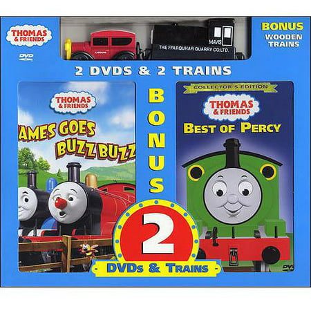 Thomas And Friends James Goes Buzz Buzz Best Of Percy With Toy Full Frame
