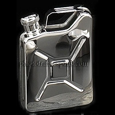 Rothco Stainless Steel Flask, Jerry Can